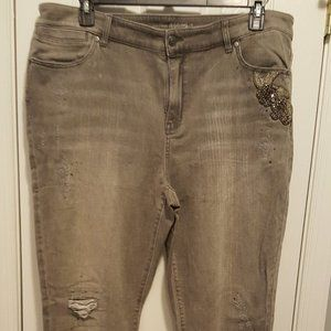 Chicos Jegging Jeans Size 3